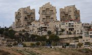 The Israeli settlement of Ma'ale Adumim in the West Bank. (© picture-alliance/dpa)