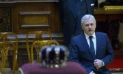 Liviu Dragnea, leader of Romania's ruling party PSD. (© picture-alliance/dpa)