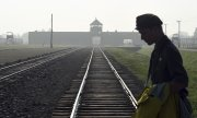 The former concentration camp Auschwitz-Birkenau. (© picture-alliance/dpa)