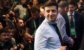 Newcomer to politics Volodymyr Zelensky. (© picture-alliance/dpa)