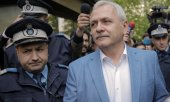 Liviu Dragnea after his hearing before the supreme court in mid-April. (© picture-alliance/dpa)