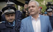 Liviu Dragnea après son audience devant la Cour suprême à la mi-avril. (© picture-alliance/dpa)