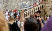 Full to overflowing: tourist magnet Dubrovnik. (© picture-alliance/dpa)