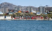 Nuuk, the capital of Greenland. (© picture-alliance/dpa)