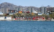 Nuuk, capitale du Groenland. (© picture-alliance/dpa)