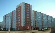 A block of flats on the outskirts of Riga. (© picture-alliance/dpa)