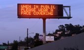 A sign on a highway in Los Angeles. (© picture-alliance/dpa)