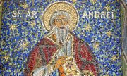A mosaic of St. Andrew in a cathedral in Constanța. (© picture-alliance/dpa)
