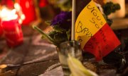 People in Brussels express their sympathy with the victims on the day of the attacks. (© picture-alliance/dpa)