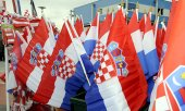 Drapeaux croates (© picture-alliance/dpa)