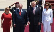 Trump and Israeli Prime Minister Netanyahu. (© picture-alliance/dpa)