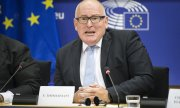 First Vice President of the EU Commission Frans Timmermans. (© picture-alliance/dpa)