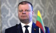 Lithuanian Prime Minister Saulius Skvernelis of the Farmers and Greens Union. (© picture-alliance/dpa)