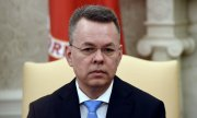 Papaz Andrew Brunson, Oval Ofis'te. (© picture-alliance/dpa)