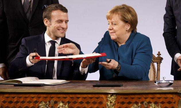 Vertrag Von Aachen Hoffnung Für Europas Zukunft Eurotopicsnet