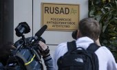 Russian anti-doping agency Rusada in Moscow. (© picture-alliance/dpa)