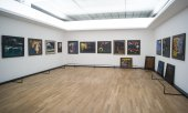 Paintings by Emil Nolde in an exhibition in April 2019 in Berlin. (© picture-alliance/dpa)