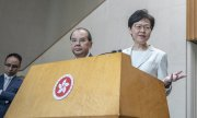 Carrie Lam, Chief Executive of the Hong Kong Special Administration Region. (© picture-alliance/dpa)