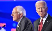 Bernie Sanders (left) leaves the candidacy to Joe Biden. (© picture-alliance/dpa)