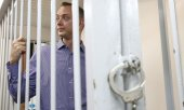 Ivan Safronov at a hearing before a district court on July 7. © picture-alliance/dpa)