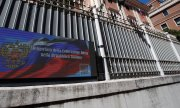 The Russian embassy in Rome. (© picture-alliance/Alessandra Tarantino)