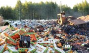 The destruction of food imports has outraged many Russians. (© picture-alliance/dpa)