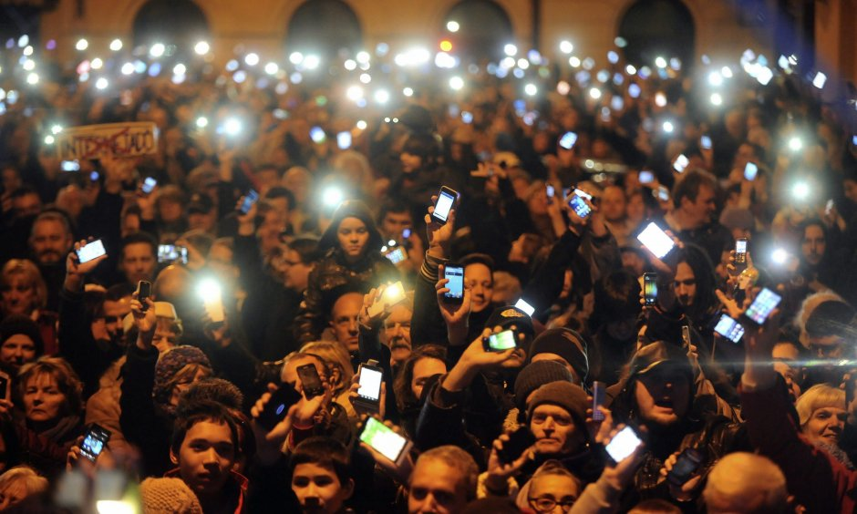 Protests against Internet tax (© picture-alliance/dpa)