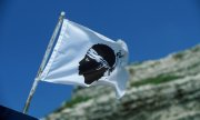 The Corsican flag. (© picture-alliance/dpa)