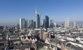 Skyline von Frankfurt am Main. (© picture-alliance/dpa)