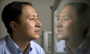 Chinese researcher He Jiankui. (© picture-alliance/dpa)
