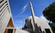 Cologne Central Mosque. (© picture-alliance/dpa)