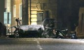 The car exploded outside a court building in Londonderry. (© picture-alliance/dpa)