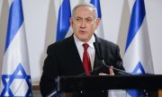 Netanyahu is the first sitting prime minister of Israel to be charged with a crime. (© picture-alliance/dpa)