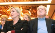 The 86-year-old Le Pen berated his daughter on Tuesday in a radio interview. (© picture-alliance/dpa)
