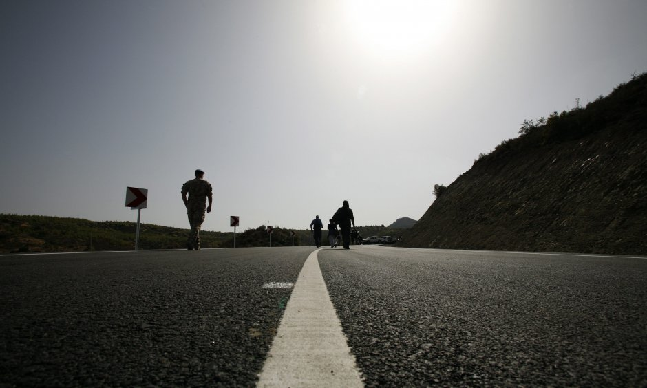 Border strip in Cyprus (© picture-alliance/dpa)