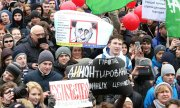 Demonstration in St. Petersburg (© picture-alliance/dpa)