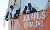 Roughly 73,000 migrants have arrived in Italy since the start of the year. (© picture-alliance/dpa)