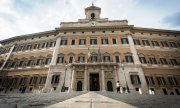 Palazzo Montecitorio: seat of the Italian parliament. (© picture-alliance/dpa)