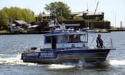 A Finnish police boat. (© picture-alliance/dpa)