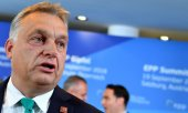 Orbán's Fidesz party was suspended from the EPP in March. (© picture-alliance/dpa)