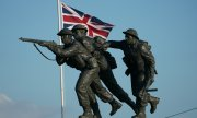 The new British memorial in Ver-sur-Mer in Normandy. (© picture-alliance/dpa)