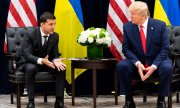 Zelensky and Trump at a meeting on the fringes of the UN General Assembly. (© picture-alliance/dpa)