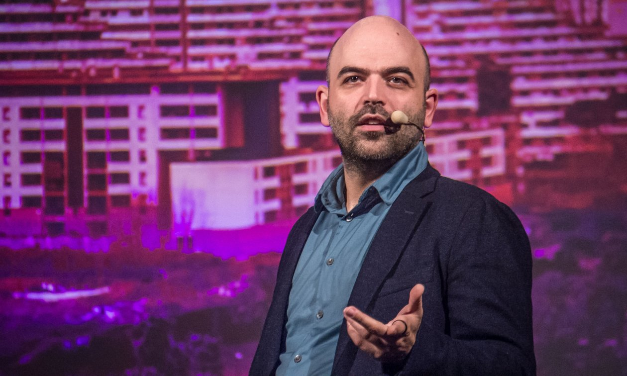 Journalist Roberto Saviano has been under police protection since 2006, and has to move to a new location every other day.