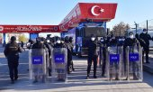 The court in Ankara was heavily guarded by police. (© picture-alliance/dpa)