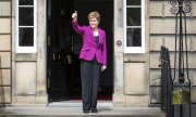 Nicola Sturgeon wants a second independence referendum to be held in 2022. (© picture-alliance/Jane Barlow)