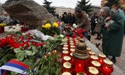 Moscow citizens commemorate the victims of political repression. (© picture-alliance/dpa)