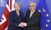 British Prime Minister May and EU Commission President Juncker. (© picture-alliance/dpa)