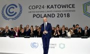 COP24 president Michał Kurtyka addressing conference participants. (© picture-alliance/dpa)