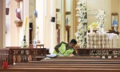 St. Sebastian's Church in Negombo, Sri Lanka. (© picture-alliance/dpa)