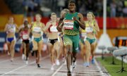 Caster Semenya bei den Commonwealth Games in Australien im April 2018. (© picture-alliance/dpa)